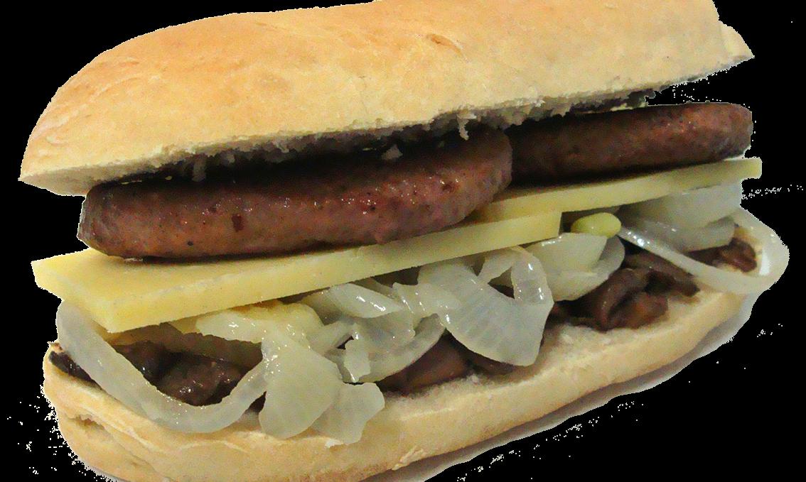 Hamburger Di Castrato Con Funghi, Cipolla e Formaggio